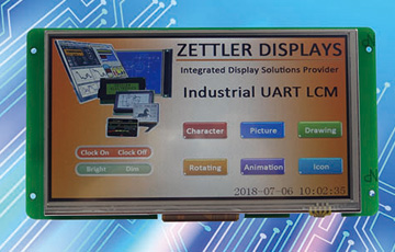 New Product Release: ATM0700U6B-T Series TFT Display Module with UART Interface