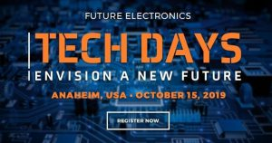 Join ZETTLER Group on October 15th in Anaheim at the Future Electronics Tech Day!